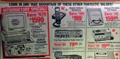 Everything on this 1991 RadioShack flyer was made obsolete by the smartphone.  RadioShack will be closing 1,100 underperforming stores.