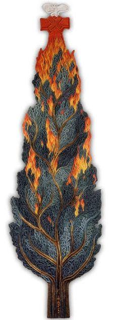 Tree in Flames Roland Eötvös University of Sciences - Kubinyi Anna: WORKS 1997