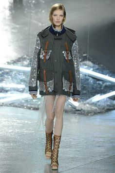 Rodarte Spring 2015 Ready-to-Wear - Collection - Gallery - Look 1 - Style.com