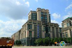 Government buildings in Putrajaya Putrajaya, Travel Tips, Buildings, Multi Story Building, Asia, Travel Advice, Travel Hacks