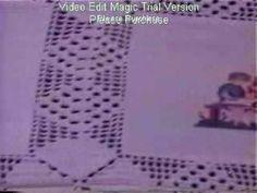 Deshilado Muestrario 5, ochos dobles - YouTube
