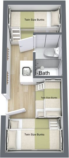 The Bunkhouse with bath | Custom Container Living