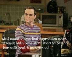 Big bang theory friends with benefits