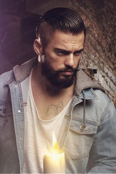 beard and undercut - Google Search