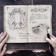 Sketchbook-drawings-elena-limkina-russia | Bored Panda