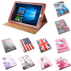 Fashion Colorful Pattern PU Leather Case for Chuwi Hi12 Flip Back Cover 12 inch Magnetic Protective Shell With Stand Function