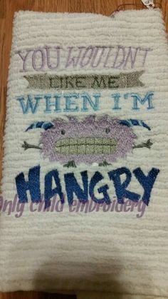 hangry design https://www.facebook.com/onlychildembroidery/