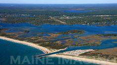 Charlestown Breachway State Beach.  Charlestown, Rhode Island.