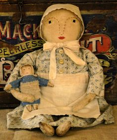 Primitive Dolls On Pinterest Primitive Doll Primitives