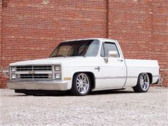 1986 Chevy SWB. Lowered with custom wheels...