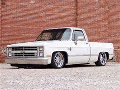1986 Chevy SWB. Lowered with custom wheels...