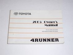 2005 toyota 4runner owner manual how to and user guide instructions u2022 rh taxibermuda co 2004 camry owners manual pdf 2004 camry owners manual pdf