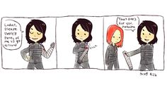 Is it just me or is all of this 'Bucky detaches his arm' fan art and funny stuff just a little painful now after CACW??