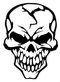 Evil-Skull-Of-Death-Car-Truck-Window-Vinyl-Decal-Sticker-10-Colors