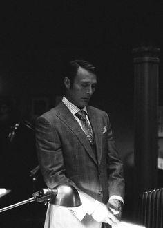 Mads Mikkelsen as Dr Hannibal Lecter