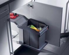 1000 id es sur le th me poubelle coulissante sur pinterest - Hailo poubelle encastrable cuisine ...