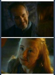 Because Shireen makes Stannis smile...why we love the Baratheons