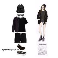 Jungkook ideal girl fashion