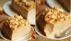 Banana cheesecake-pie without some cheese Banana Cheesecake, Cooking Recipes, Healthy Recipes, Cheesecakes, Apple Pie, Banana Bread, Caramel, Food Porn, Pudding