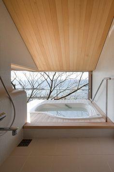 Wind-dyed house, Yokosuka Kanagawa, 2011 by acaa  #architecture #japan #bath #design #minimal #interiors