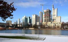 Frankfurter Skyline wächst weiter, Januar 2017