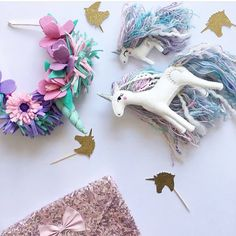 For your next magical fairy tale party, don't forget the unicorns!