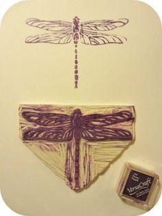 *Tadaam !: Tampon libellule