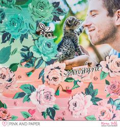 Crate Paper - Maggie Holmes Flourish Layout | Mona T�th