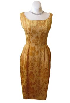 1960s cocktail dress.