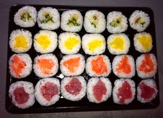 Sushi color palet