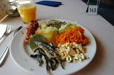Lunch is eaten very early in Finland, usually before noon.