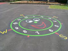Image result for school playground markings