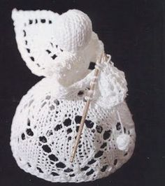 Knitting Pattern Angel Ornament : Special Occasion Knitting - Christmas Knitting Patterns ...