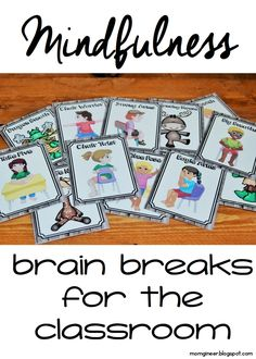 Are you looking to implement mindfulness? What better way than with brain breaks that you can do right at your desk! Try using mindfulness as one of the tools in your classroom management tool kit - you won't believe what a difference it can make.