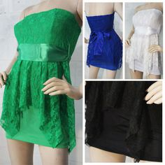 Women Sexy Lingerie Lady Double Lace Sexy Ribbon Package Hip Nightclub Dress New | eBay