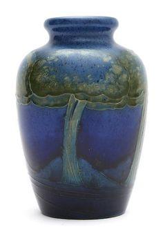 A Moorcroft vase designed by William Moorcroft, circa 1920
