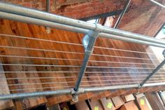 Best Iron Piping Handrail Lends A Rustic Industrial Look Diy 640 x 480