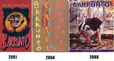 barrunto en tres ediciones.