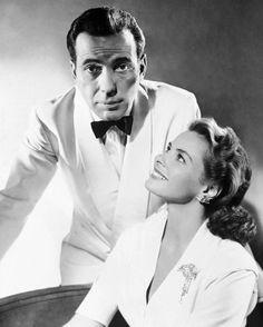 Ingrid Bergman with Humphrey Bogart