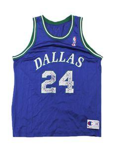 Vintage 1990s 90s Dallas Mavericks Jim Jackson NBA Sportswear Jersey Mens 48 XL