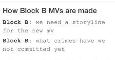 LOL.. Gotta love Block B ❤️