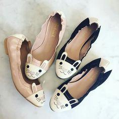 Jessica Butrich rabbit ballerinas in love of them!