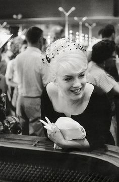 "Marilyn Monroe by Henri Cartier-Bresson. This photo was taken during the filming of ""THE MISFTS."