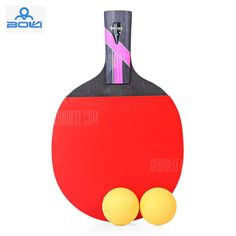 BOLI Three Star Table Tennis Ping Pong Racket Paddle with Ball #Shoproads #onlineshopping #Other Sports & Accessories