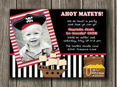 Pirate Invitations