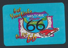 Historic Route 66 playing card single swap king of spades - 1 card