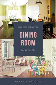 Our dining-room color ideas gallery includes our most preferred color pattern. From modern-day to conventional, obtain inspired by these elegant dining-room paint color. #diningroom#paint#color#ideas#design#wall#table