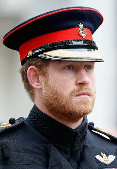 Prince Harry attends a Service in the Field of Remembrance at Westminster Abbey on November 5, 2015 in London, England