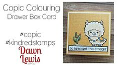 Dawn Lewis - YouTube Copic Markers, Copics, Cardmaking, Dawn, Coloring, Stamp, Crafty, Youtube, Cards