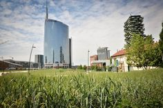 """Martinelli Luce always sensitive to social themes supports Oxfam Italia and The Circle Italy joining the charity project """"Feed it!"""" Milano, Wheatfield, Porta Nuova  11 june 2015"""